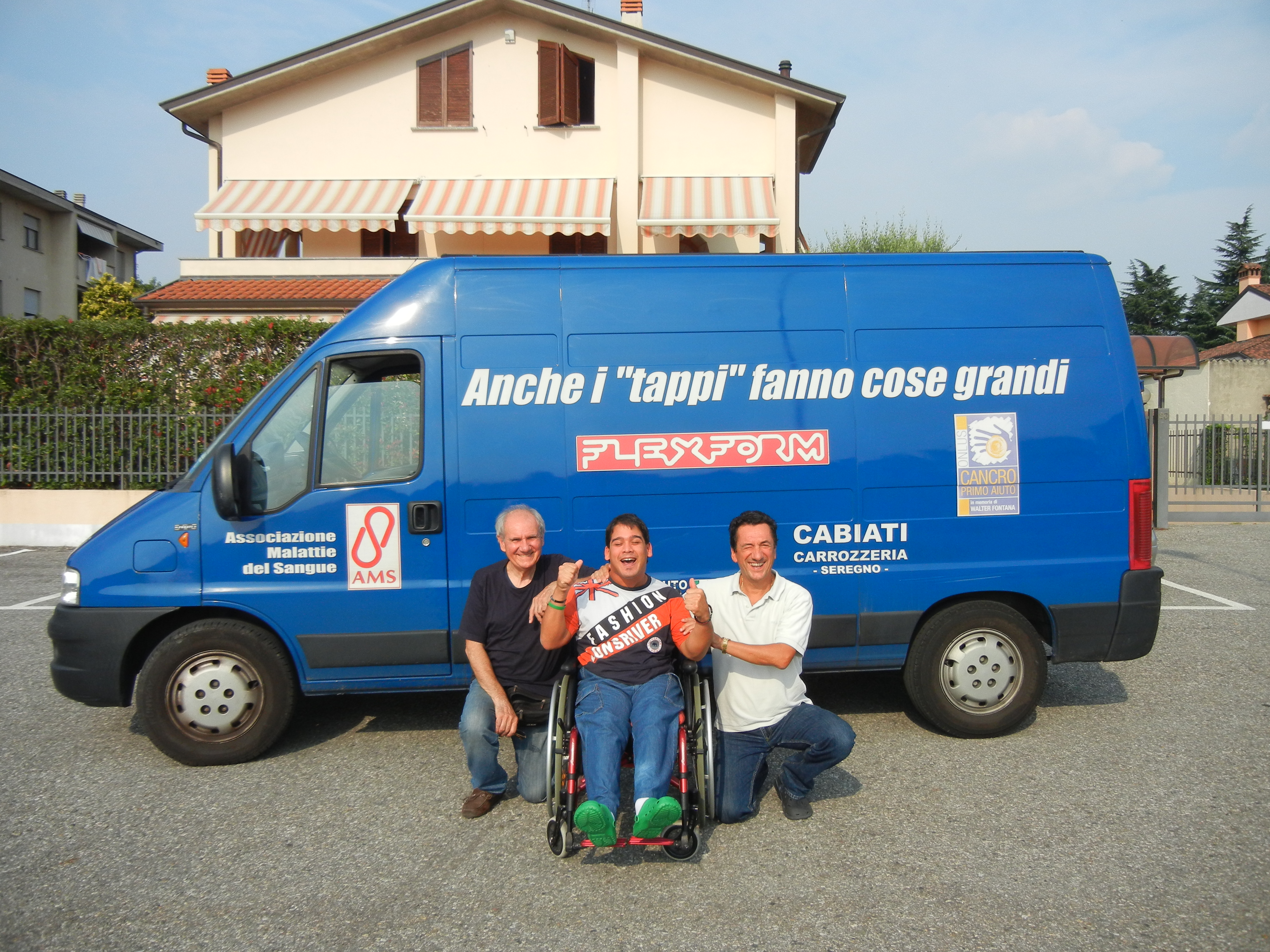 Daniele con Giorgio Furlani ed Enrico Barbieri